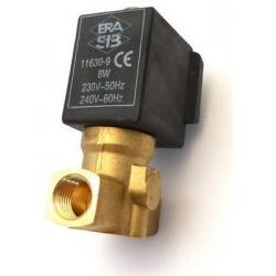 ELECTROVANNE 2VOIES 230-240V AC 50-60HZ ENTREE 1/4F SORTIE