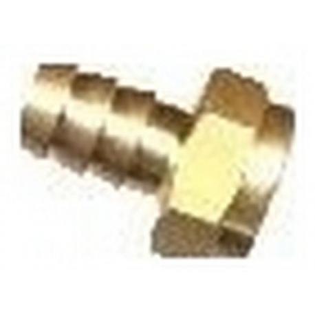 RACCORD FEM. 1/4F PR TUBE 6MM - IQ848
