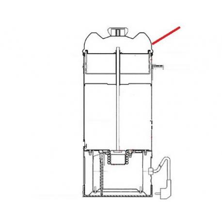 COUVERCLE PERCO 10/15L ORIGINE ANIMO - NAVQ7444