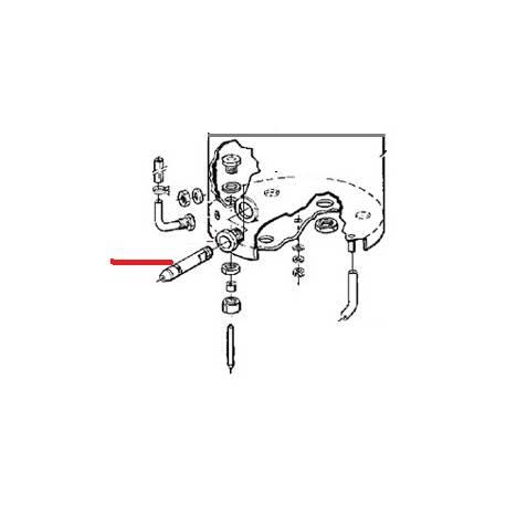 RACCORD SORTIE ROBINET MW ORIGINE ANIMO - NAVQ2874