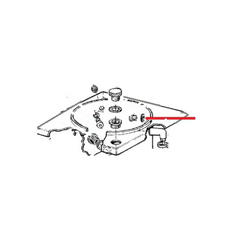 JOINT FIBRE 32X26.5X3 MM ORIGINE ANIMO - NAVQ3599