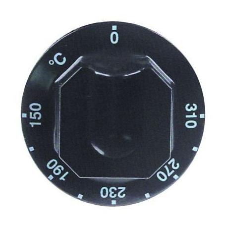 TIQ77418-MANETTE 150-310øC D70MM NOIRE
