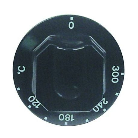 MANETTE 120-300øC D70MM NOIRE - TIQ77413