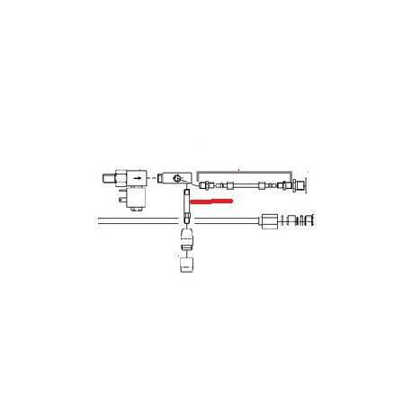 TUBE INOX ORIGINE FUTURMAT - NXQ695