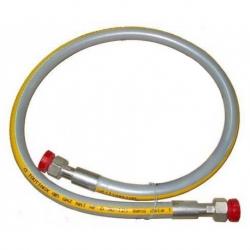 FLEXIBLE GAZ TOUTINOX GAZ NATUREL L:1250MM ENTREE 1/2F SORTI