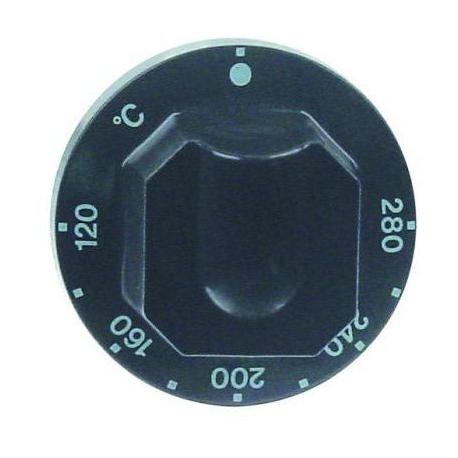 MANETTE 120ø-280øC D70MM NOIRE - TIQ77441