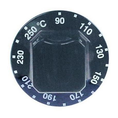 MANETTE 90ø-250øC D60MM NOIRE - TIQ78558