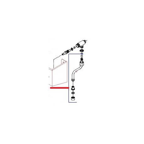 TUBE EAU COMPLET PROF EXPRESS ORIGINE BEZZERA - ORQ393