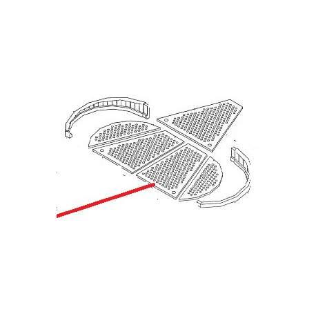 GRILLE CHAUFFE TASSE CENTRALE 2/3GR ORIGINE BEZZERA - ORQ336
