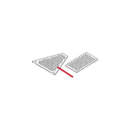 GRILLE CHAUFFE TASSE CENTRALE 3/4 GR ORIGINE BEZZERA - ORQ333