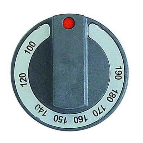 MANETTE NOIRE 77MM 100-190ø - TIQ78564