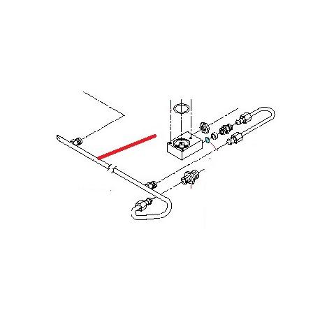 TUBE COLLECTEUR 1GR ORIGINE BEZZERA - ORQ412