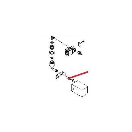 JOINT TORIQUE SILICONE 8X2MM ORIGINE BEZZERA - ORQ441