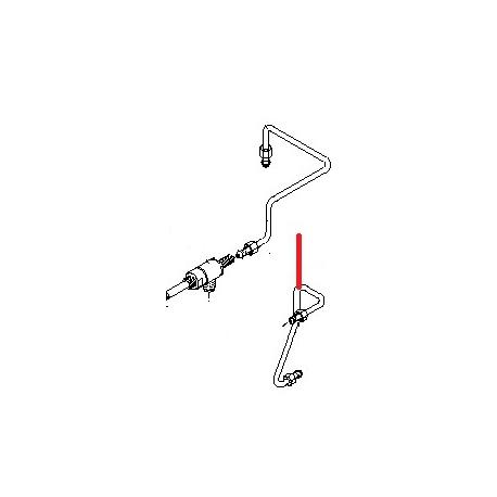 TUYAU ROBINET EAU 2/3GR ORIGINE BEZZERA - ORQ6558