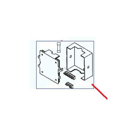 BOITIER ELECTRONIQUE 2GR 220V + CLEF PROGRAMMATION+4GR DE - ORQ6562
