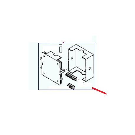 BOITIER ELECTRONIQUE 3GR 220V + CLEF PROGRAMMATION ELISSE DE - ORQ6563