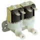 ELECTROVANNE LAVAGE AVEC REDUCTEUR 2VOIES 8W 220-240V AC - TIQ66430