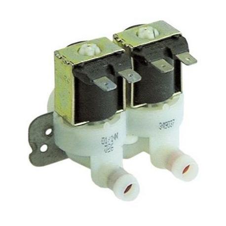 ELECTROVANNE LAVAGE AVEC 2 REDUCTEURS 2VOIES 8W 220-240V AC - TIQ66431