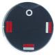 TIQ78506-MANETTE FOUR D50MM NOIRE