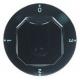 TIQ78688-MANETTE 4 TEMPS D70MM NOIRE ORIGINE