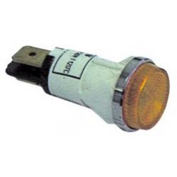 LAMPE TEMOIN 230V VERTE ORIGINE GIORIK