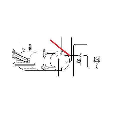 TUBE CHAUDIERE-RACCORD CROIX - PQ6716