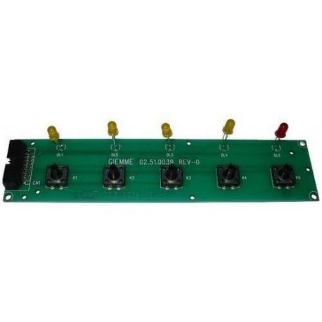 PLATINE CLAVIER XEOS VOIR COD410112 OU - PBQ714