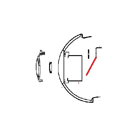 CLIP DE FIXATION ORIGINE CONTI - PBQ118