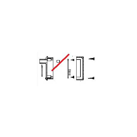 CARTE POUSSOIR K10/K12 ORIGINE CONTI - PBQ128