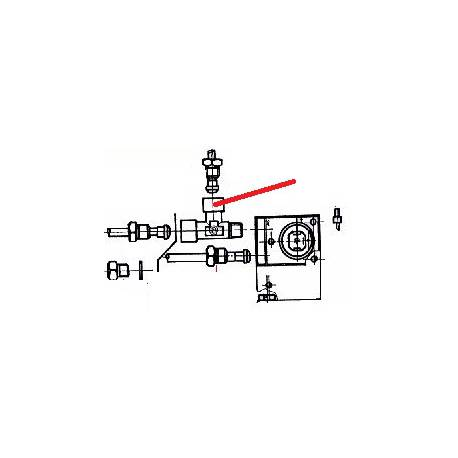 SUPPORT TURBINE(C8) ORIGINE CONTI - PBQ950133