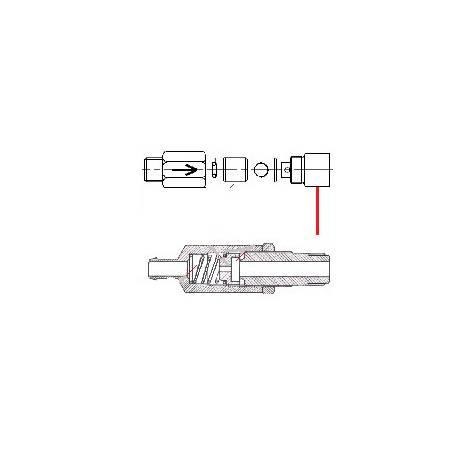 RACCORD CLAPET ANTI-RETOUR 1/4 F ORIGINE CONTI - PBQ954232