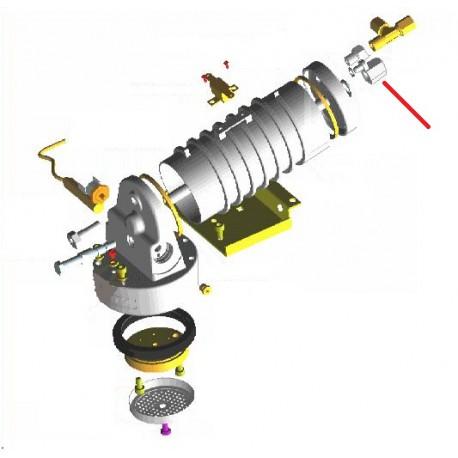 ECROU BORGNE INOX M10 SPECIAL ORIGINE CONTI - PBQ965186