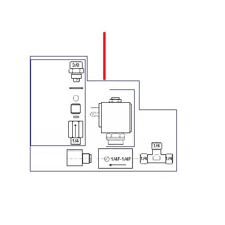 BLOC ENTREE EAU AUTO CINOX ORIGINE CONTI - PBQ965115