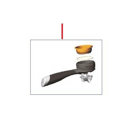 PORTE FILTRE 2T INOX COMPLET ORIGINE CONTI - PBQ965459