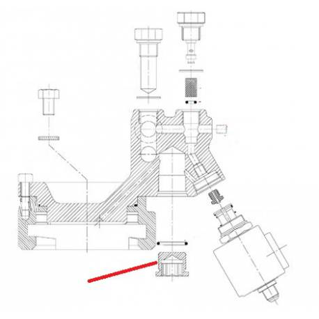 BOUCHON INFERIEUR GROUPE TONIQUE ORIGINE CONTI - PBQ966823