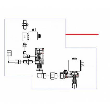 ROBINET AVEC MITIGEUR ORIGINE CONTI - PBQ966973
