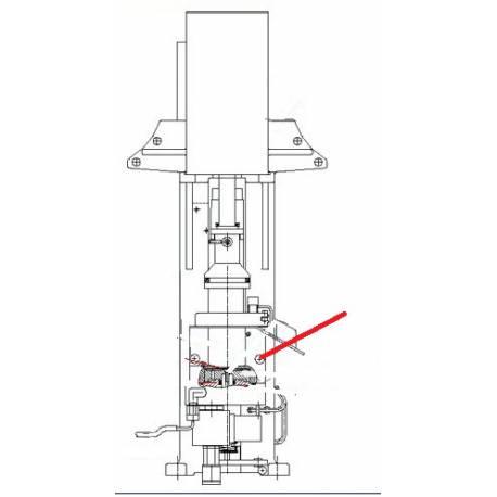CARTOUCHE CHAUFFANTE 100W 230V ORIGINE CONTI - PBQ910604