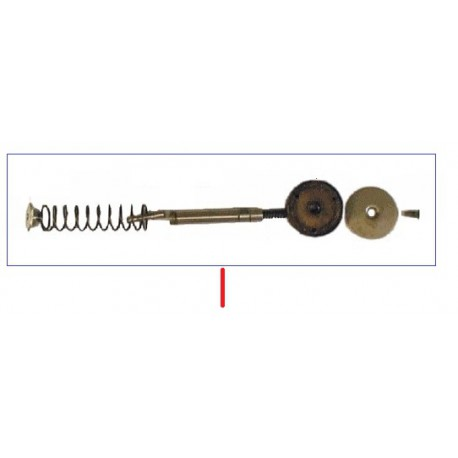 ENSEMBLE PISTON/AXE/RESSORT ORIGINE CONTI - PBQ910936