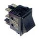 INTERRUPTEUR 30X22MM 2 POLES NOIR 0-1 250V 10A - RKQ25