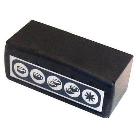 CENTRALE CLAVIER 5T ID5 5 CONNECTEURS  - RKQ693