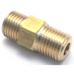 EXPOBAR 1/4X1/4 COMPRESSION COUPLING ORIGINAL