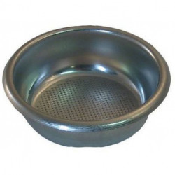 STAINLESS STEEL 2-CUP FILTER LOW 12G