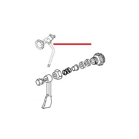 ROBINET VAPEUR E61 COMPLET ORIGINE CIMBALI - SQ6099
