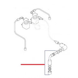 TUBE EAU E61 COMPLET ORIGINE CIMBALI