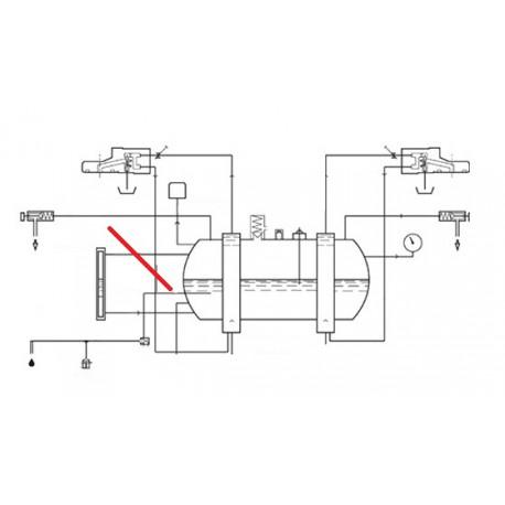 TUBE CHAUDIERE ELECTROVANNE - SQ6174