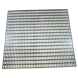 GRILLE COMPLETE CHAUFFE TASSE 2/3/4 GROUPES 385X225MM