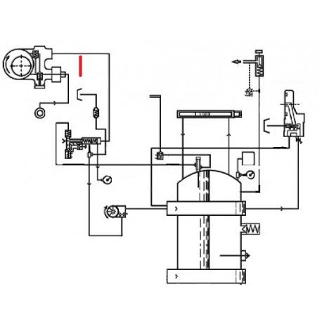 TUBE POMPE VANNE ORIGINE CIMBALI - SQ6114