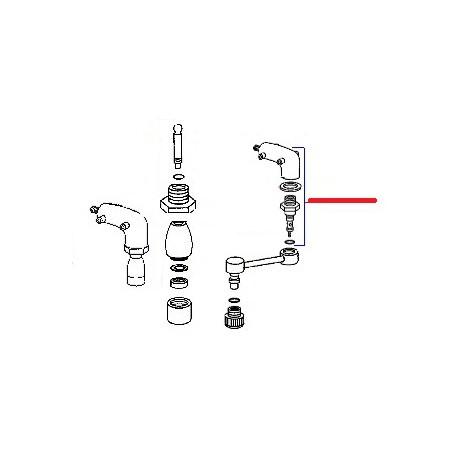 ROBINET CAPPUCCINO E91 ORIGINE CIMBALI - SQ6148