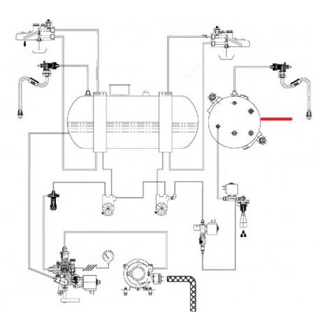 CHAUDIERE 2 GROUPES E92 ORIGINE CIMBALI - SQ6273