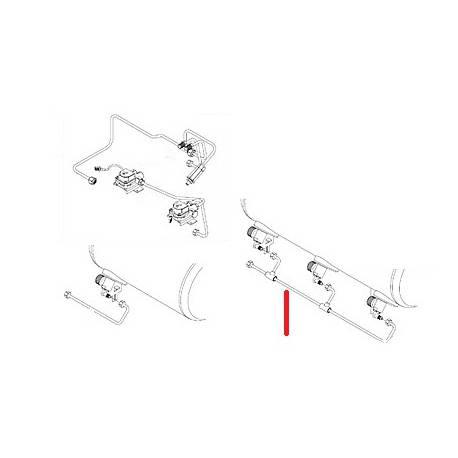 TUBE RACCORD ECHANGEUR 2/3GR - SQ6351